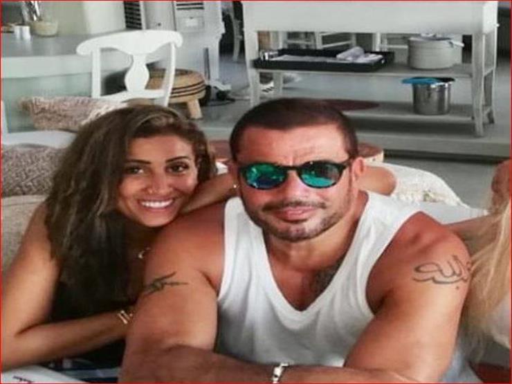 أول إعلان يجمع عمرو دياب ودينا الشربيني (صورة)