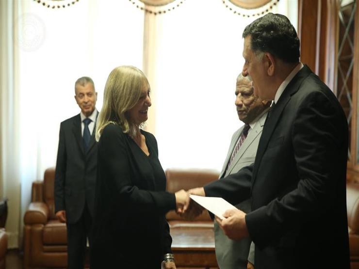 سفيرة فرنسا الجديدة في ليبيا: استئناف عمل السفارة من طرابلس ...مصراوى