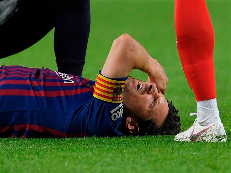 ميسي يثير قلق جماهير برشلونة قبل الكلاسيكو