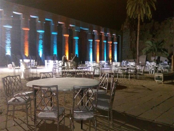 احتفالا بعيد تحرير سيناء.. عروض مجانية للصوت والضوء في معبد الكرنك