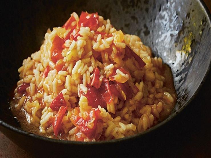 الأرز بالطماطم على الطريقة الهندية