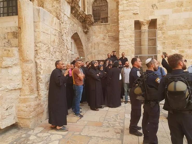 الخارجية الفلسطينية تدين الاعتداء على رهبان دير السلطان بالقدس