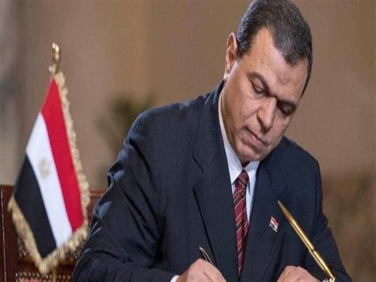 وزير القوى العاملة يوقع مع نظيره السوداني مذكرة للتعاون الفني بين الوزارتين