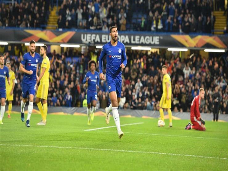 بالفيديو.. فوز تشيلسي وسقوط ميلان في الدوري الأوروبي