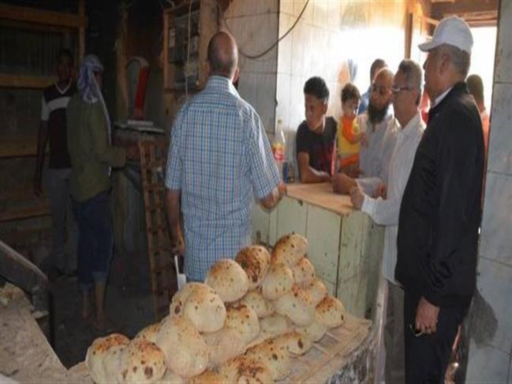 ضبط 71 قضية تموينية و26 مخبزا مخالفا في الجيزة...مصراوى