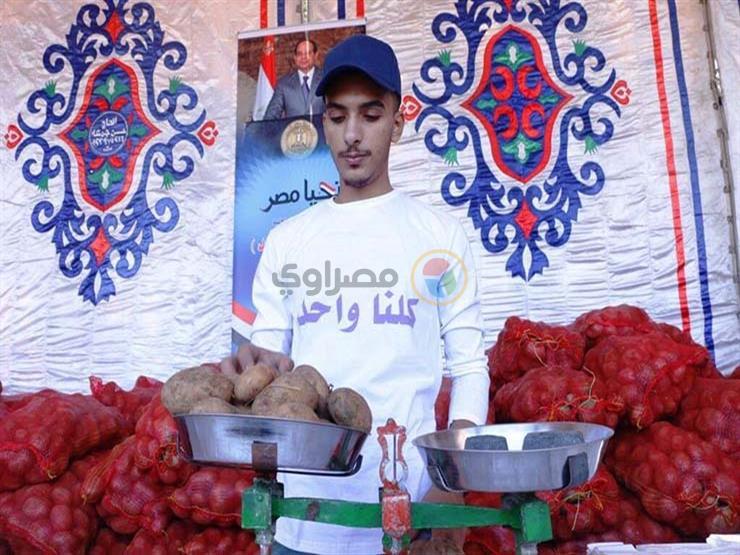 بميدان رمسيس.. البطاطس تهزم اللحمة في طابور  وزارة الداخلية ...مصراوى