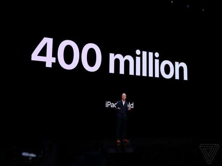 """تيم كوك: """"أبل"""" باعت أكثر من 400 مليون """"آيباد"""" حتى الآن"""