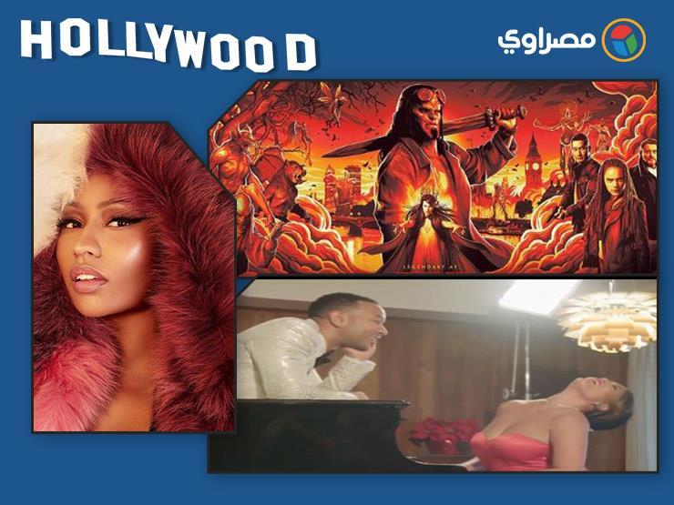 """نشرة هوليوود  """"بويكا"""" في دبي ونيكي ميناج تخطف الأنظار و""""إيمنيم"""" يطرح الأغنية الدعائية لفيلم """"Venom"""""""