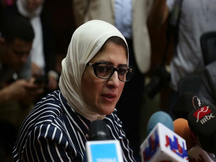 """وزيرة الصحة: زيادة عدد نقاط الكشف بمبادرة فيروس """"سي"""""""
