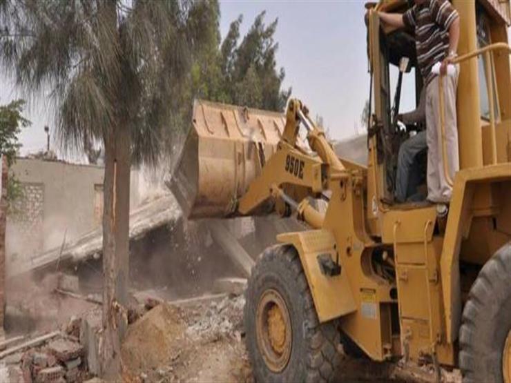 الأجهزة الأمنية تزيل 125 حالة تعد على أملاك الدولة والأراضي الزراعية والنيل