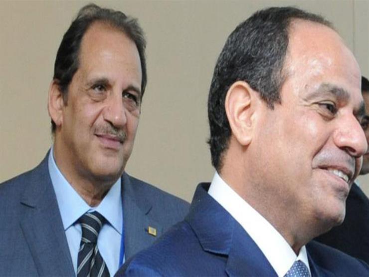 """""""الرئاسة"""" تكشف تفاصيل لقاء السيسي مع رئيسي الوزراء والمخابرات العامة"""