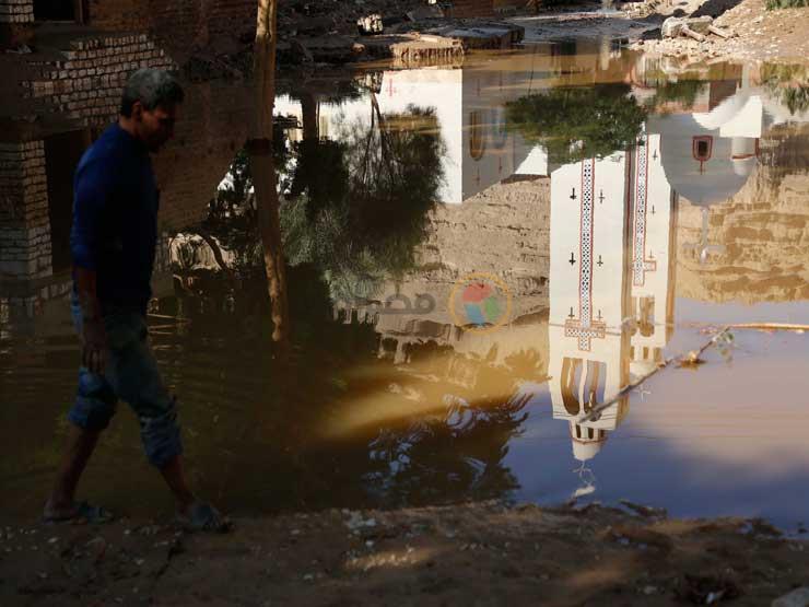 """""""الأهالي عثروا على الجثة"""".. تفاصيل انتشال مفقود السيول بـ""""أسيوط"""""""