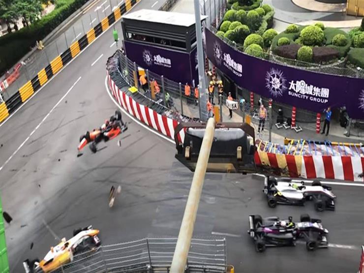 بالفيديو.. صوفيا فلوريس تنجو بأعجوبة من حادث مروع بسباق فورمولا-3 الأوروبي