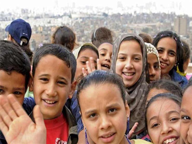 """""""الإحصاء"""": 38.9 مليون طفل في مصر بنسبة 40.1% من إجمالي السكان"""