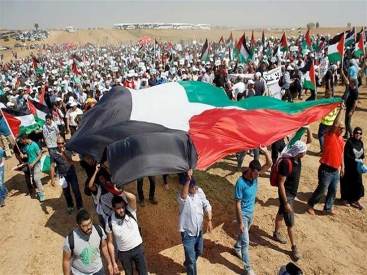 مركز حقوقي فلسطيني: على المجتمع الدولي حماية مسيرات العودة في عامها الثاني