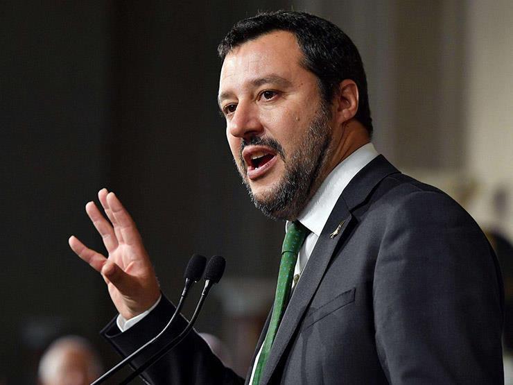 سالفيني بصدد اقتراح تصويت بسحب الثقة من رئيس الوزراء في مجلس الشيوخ الإيطالي