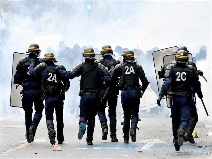 اشتباكات وسط باريس مع تظاهر الآلاف ضد ارتفاع أسعار الوقود