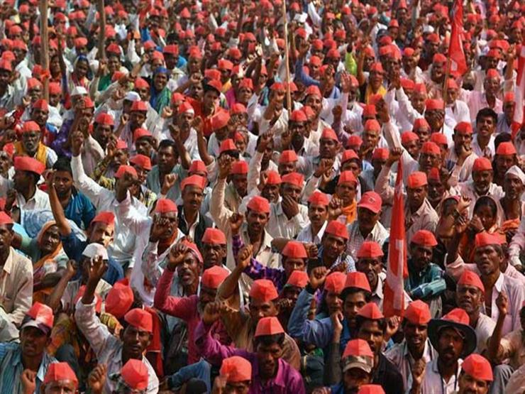 تظاهر الآلاف بشمال الهند للمطالبة ببناء معبد مثير للجدل