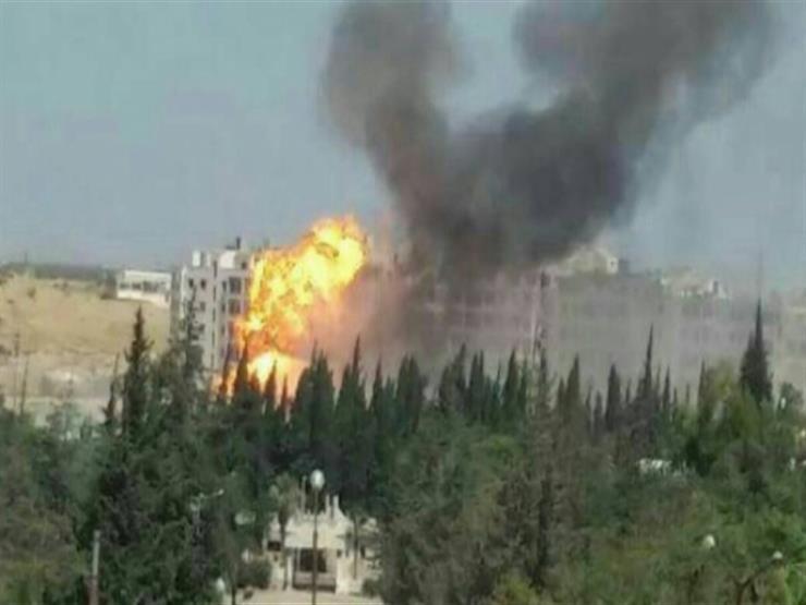 انفجار عنيف يهز مدينة إدلب شمال غربي سوريا
