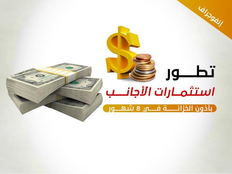 كيف خسرت مصر 9.8 مليار دولار من استثمارات الأجانب في 7 أشهر؟ (إنفوجرافيك)