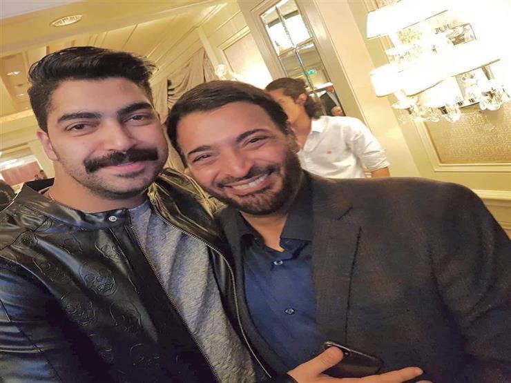 مينا عطا يهنئ حميد الشاعري بعيد ميلاده