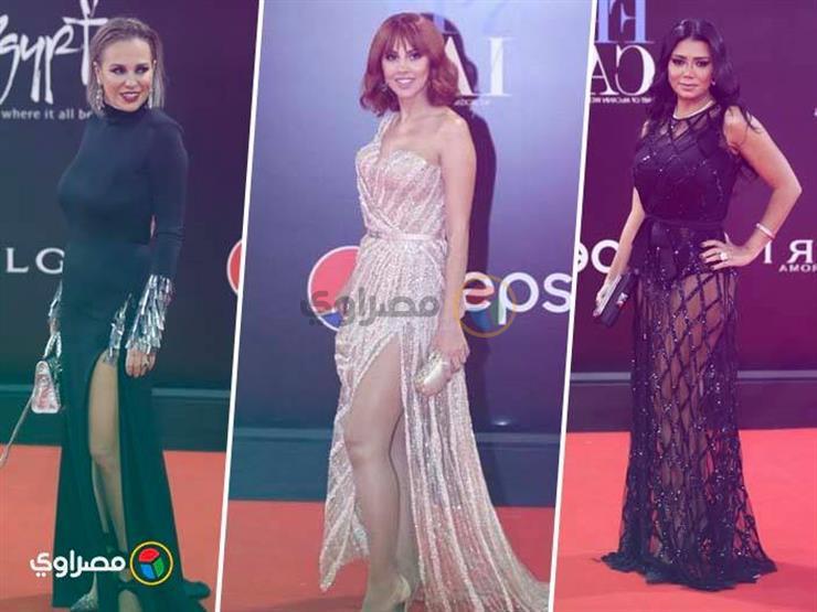 """بالصور - أجرأ إطلالات نجمات مهرجان القاهرة السينمائي.. """"مايوه تحت فستان"""""""