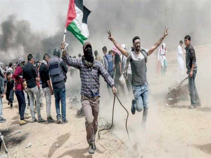 إصابة 34 فلسطينيا بنيران قوات الاحتلال الإسرائيلي على حدود غزة