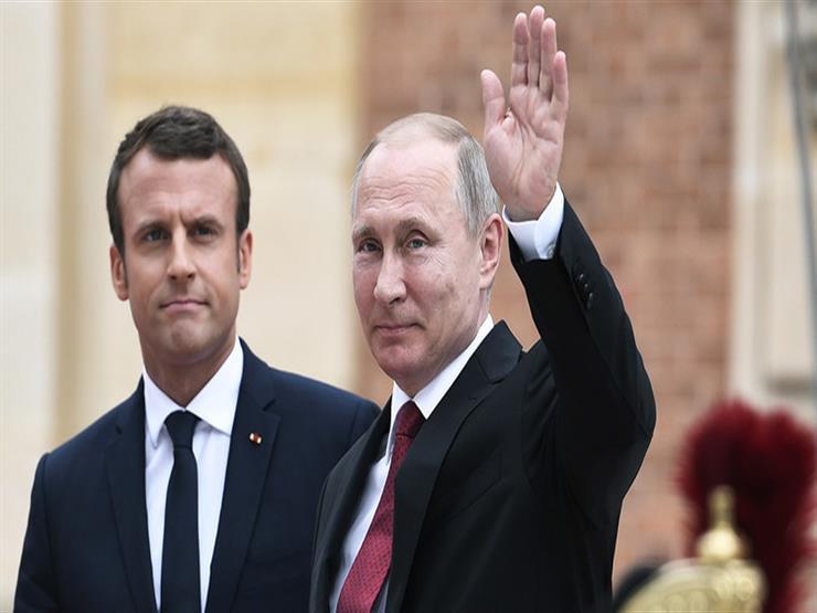 بوتين وماكرون يبحثان الملفين الإيراني والأوكراني