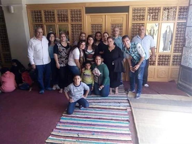 قبل مغادرتهم دير الأنبا صموئيل.. ننشر آخر صورة لشهداء المنيا