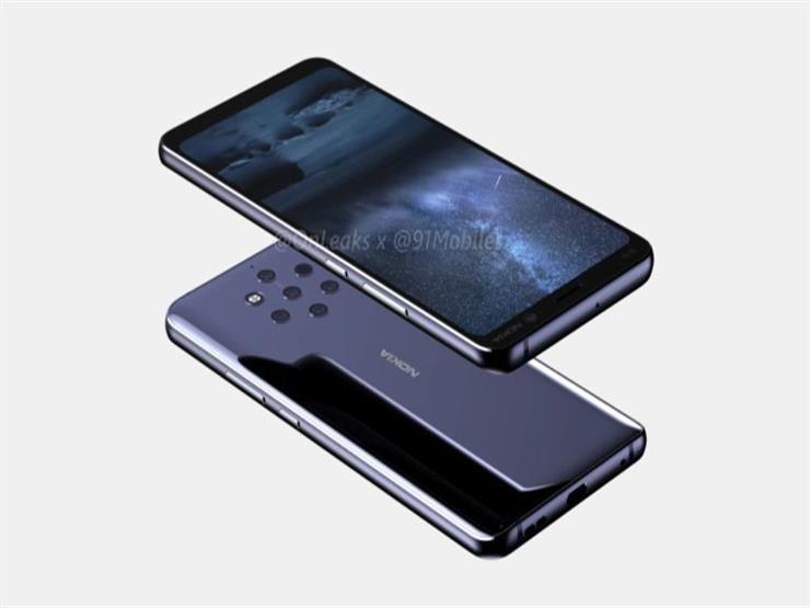 تسريبات تكشف تصميم هاتف نوكيا القادم بـ 5 كاميرات