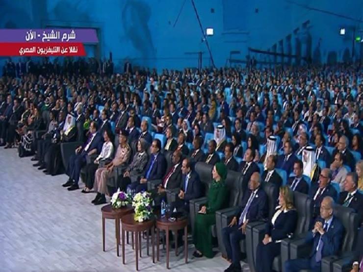 مغربية بمنتدى الشباب:  مصر تؤمن بإمكانات أبنائها وأشكركم على...مصراوى