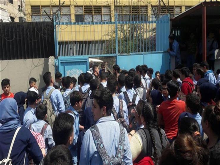 للمرة الثانية في أسبوع.. ضحايا مدرسة دار السلام الوهمية يتجم...مصراوى