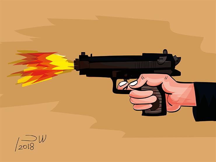 صاحب شركة توريدات يطلق النيران على نفسه وسط شارع الهرم