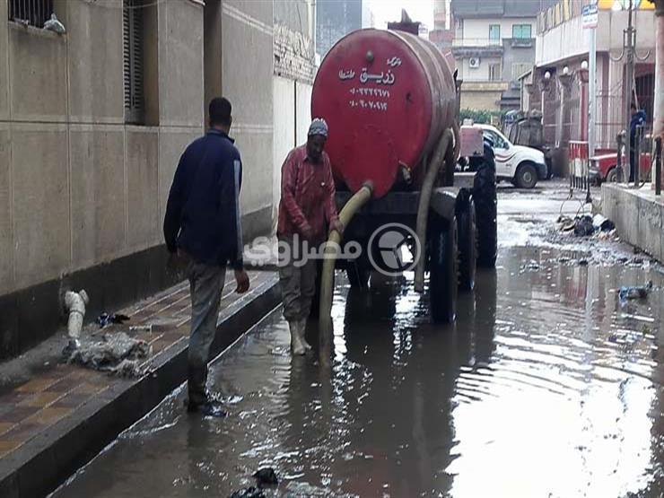 """تحرك عاجل من """"التنمية المحلية"""" لمواجهة الأمطار الغزيرة بالمحافظات الساحلية"""