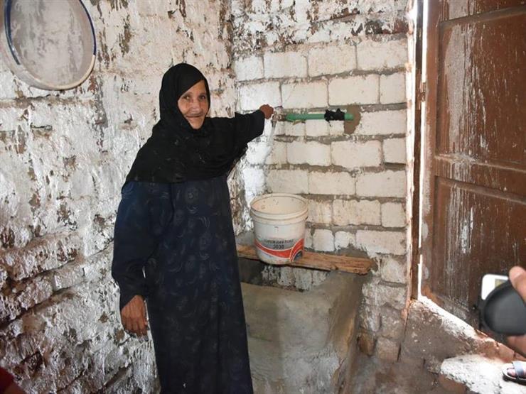 """بالمجان.. """"مستقبل وطن"""" يوصل مياه الشرب لعدة منازل في المنيا"""