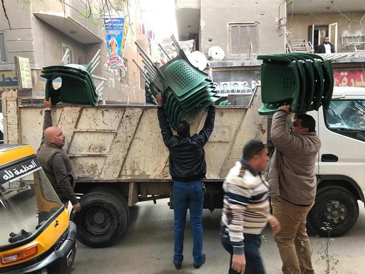 محافظة القاهرة: حملة مكبرة بحي المرج للتصدي للمخالفات والإشغالات