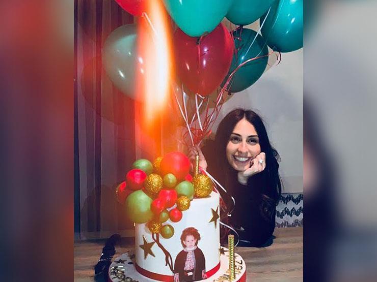 بالصور.. هبة طوجي تحتفل بعيد ميلادها
