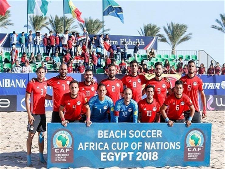 هدف قاتل لنيجيريا يحرم مصر من التأهل لمونديال الكرة الشاطئية
