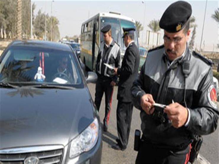 أمن الجيزة: تحرير 2405 مخالفة مرورية متنوعة في 24 ساعة