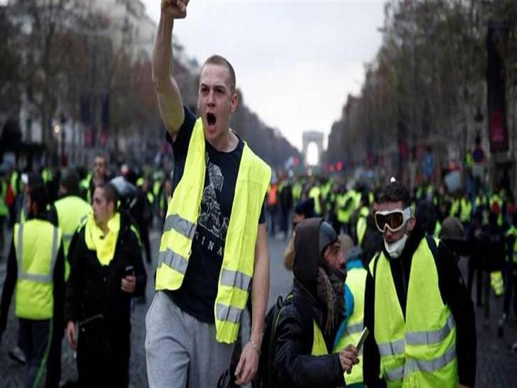 """""""سكاي نيوز"""": الشرطة تقبض على 151 شخصًا من محتجي السترات الصفراء"""