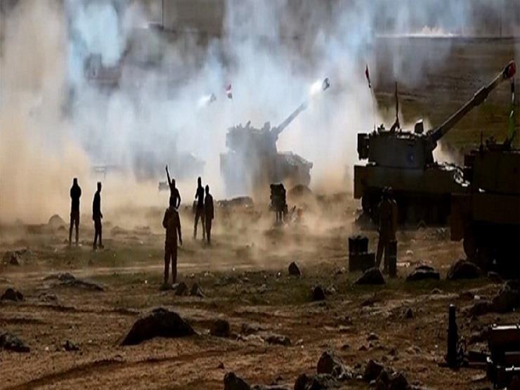المدفعية العراقية تستهدف مواقع لداعش داخل الحدود السورية