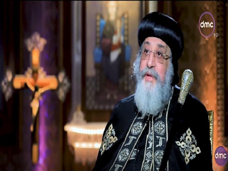 """""""ستكون الأكبر في الشرق الأوسط"""".. تواضروس مشيدًا بكاتدرائية """"ميلاد المسيح"""" بالعاصمة الإدارية"""