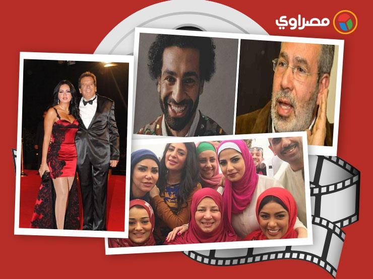 النشرة الفنية  تعليق محمد مختار على فستان رانيا يوسف ونجوم رحلوا عن عالمنا في 2018