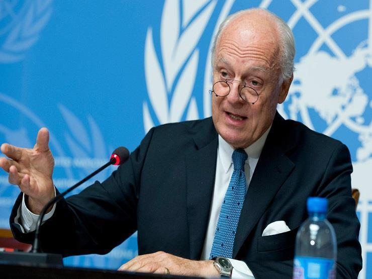 دي ميستورا: تشكيل اللجنة الدستورية السورية يحتاج إلى خطوات