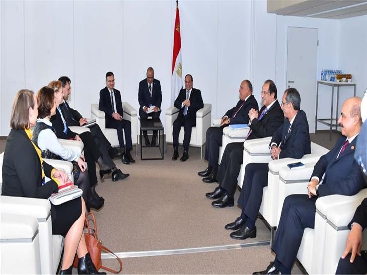 رئيس الوزراء السلوفيني للسيسي: مصر ركيزة استقرار الشرق الأوسط