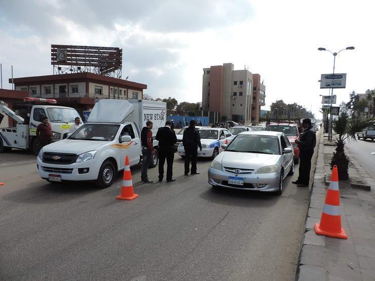 فحص 711 سائقًا في حملات مرورية للكشف عن المتعاطين بالوادي الجديد