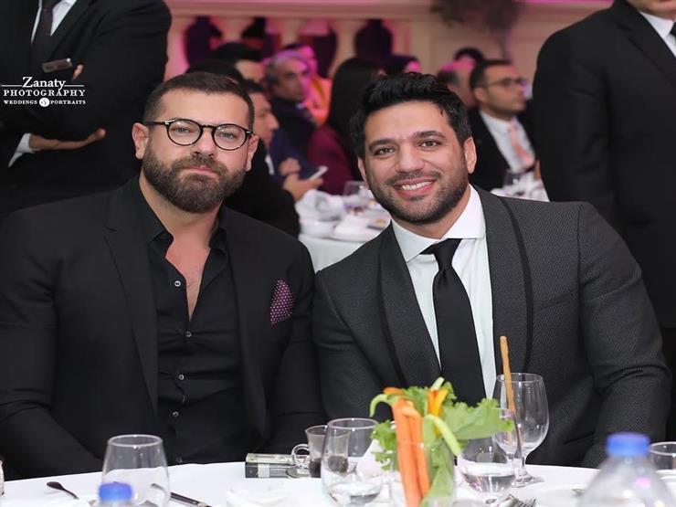 حسن الرداد يهنئ عمرو يوسف بعيد ميلاده