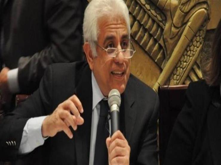 حسام بدراوي: من الصعب إجراء امتحانات الثانوية العامة هذا العام