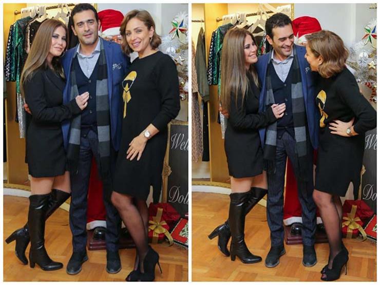 ريم البارودي تنشر صورًا حديثة لمنة حسين فهمي وزوجها.. وهكذا وصفتهما