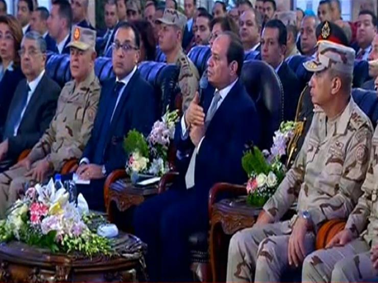 السيسي عن كثرة الإنجاب: بتتكلموا كأني مقصر في حقكم.. لا والله